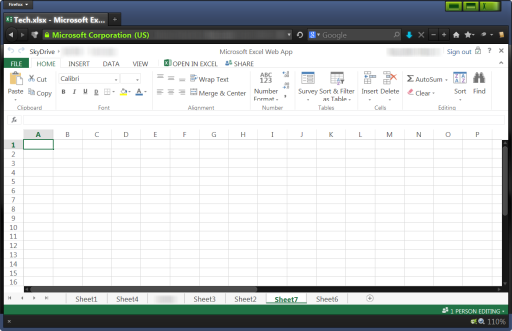 Use Excel even if it's not installed in your computer