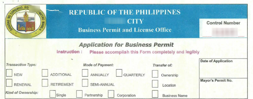 How To Renew Your Mayor's Business Permit